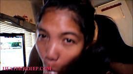 HD Pigtails Thai teen heather Deep Selfie best deepthroat blowjob in the world creamthroat and swallow