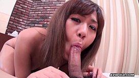 Cock loving honey, Nozomi Kahara is just sucking and fucking