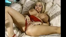 Horny Housewife Big Tit Blonde