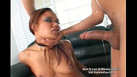 Hot Asian Babe Annie Cruz Sucked Cock Deep In Her Throat