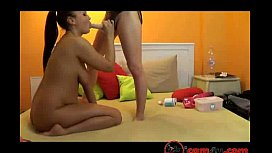 Clockwork girls refreshi fuck and engage in oral