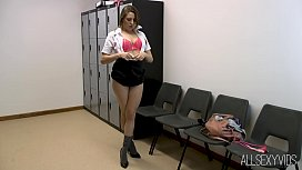 College Girl Samantha Glass Toy Play