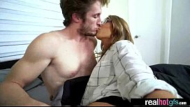 Hardcore Sex Action With Amateur Hot Real GF (kirsten lee) vid-16
