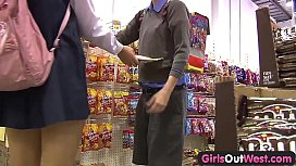 Girls Out West - Aussie hairy pussies licked after school