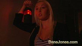 Dane Jones Hot teen blonde gets creampie fucking from her big cock lover