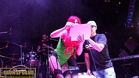 live music and public lesbian show