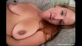 Dildo Masturbation With Busty MILF