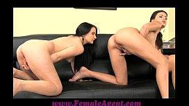 FemaleAgent Shy girl loves anal creampies