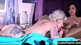 Hot Lesbians indigojenna Play Hard In Punish Sex Scene Using Toys vid