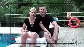Private par pr&oslash_ver det sammen foran kameraet - m&aring_ske vil din kone dele forn&oslash_jelsen ... have det sjovt