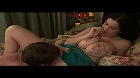 Romantic rough sex for big tits babe