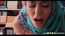 Arab Teen Audrey Royal Caught Shoplifting jav 68