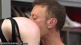 Huge Dick Rocco Siffredi Gapes His Obedient Subs!