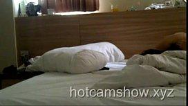 Hot Couple Fuck Prone Bone In Hotel Room
