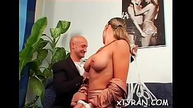 Bdsm fetish action with dude getting sexy wax and face hole fucked