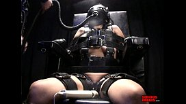 First Time Bondage Chair Orgasm