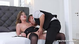 Private.com - Student Ann Rice Butt Fucked &amp_ Pussy Pounded!
