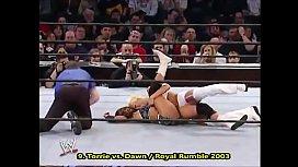 Torrie Wilson wrestling moves.