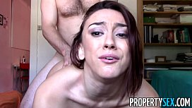 Prope ex Landlord fucks tenant with nice big ass on camera