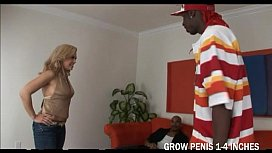 Big Tits Blonde Starla Sterling Sucked Two Cock And Get Fucked