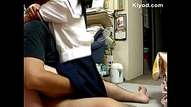student gf fucked after school