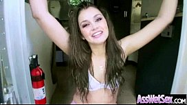 Anal Hard Style Sex With Hot Curvy Big Butt Slut Girl (allie haze) video-07