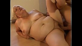 Big tits granny fuck