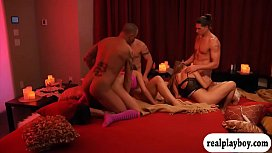Bunch of couples swap partners and enjoyed nasty orgy