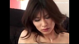 Asian Girl Having Orgasm While Getting Her Pussy Fucked With Vibrator Tits Rubbed On The Bed