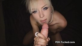 Jeanie strip down and ride my cock while I tape it