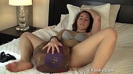 Yanks Amber B. Humps Her Purse