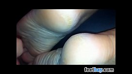 Orgasming On Her Beautiful Feet Compilation