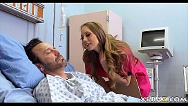 Nurse hooker Shawna Lenee earns cash off her horny patients