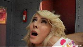 Charlies Angels Parody Blonde Teen Fucks Hard