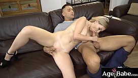Alexa is an milf who is very excited for   Mugur'_s veiny cock