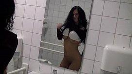 Couple Fucks In A Bathroom At IKEA