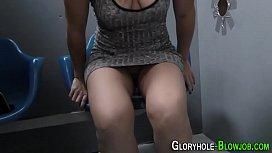Cock sucking ho creampied