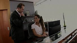 smoking hot office milf pussy