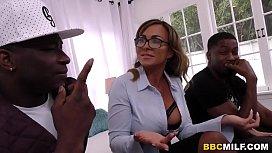 Busty MILF Aubrey Black Squirts On A Big Black Cock