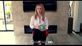 Fanta Anal Job interview for secretary Bonnie Grey