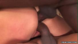 Jennifer Dark is DPed by two black dudes
