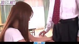 Teacher-licks-hairy-pussy-young-student