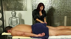 Liv Aguilera doing a hot and exciting massage