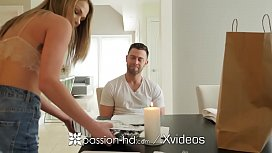 PASSION-HD Unexpected Fuck With Lucky Delivery Boy