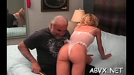 Sweet beauty enjoys private moments of amateur bondage