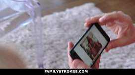 Familystrokes - Step-Sis Fucked During Christmas Pic xxx image
