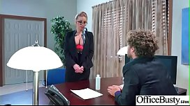 Sex In Office With Big Round Tits Girl (Britney Amber) video-06
