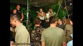 Twink chained and group fucked young gay sex xxx Dozens of studs go