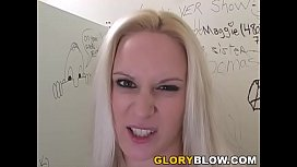 Ruth Blackwell Gives Amazing Blowjob To A Black Cock