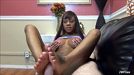 Virgin Ebony Soles HD